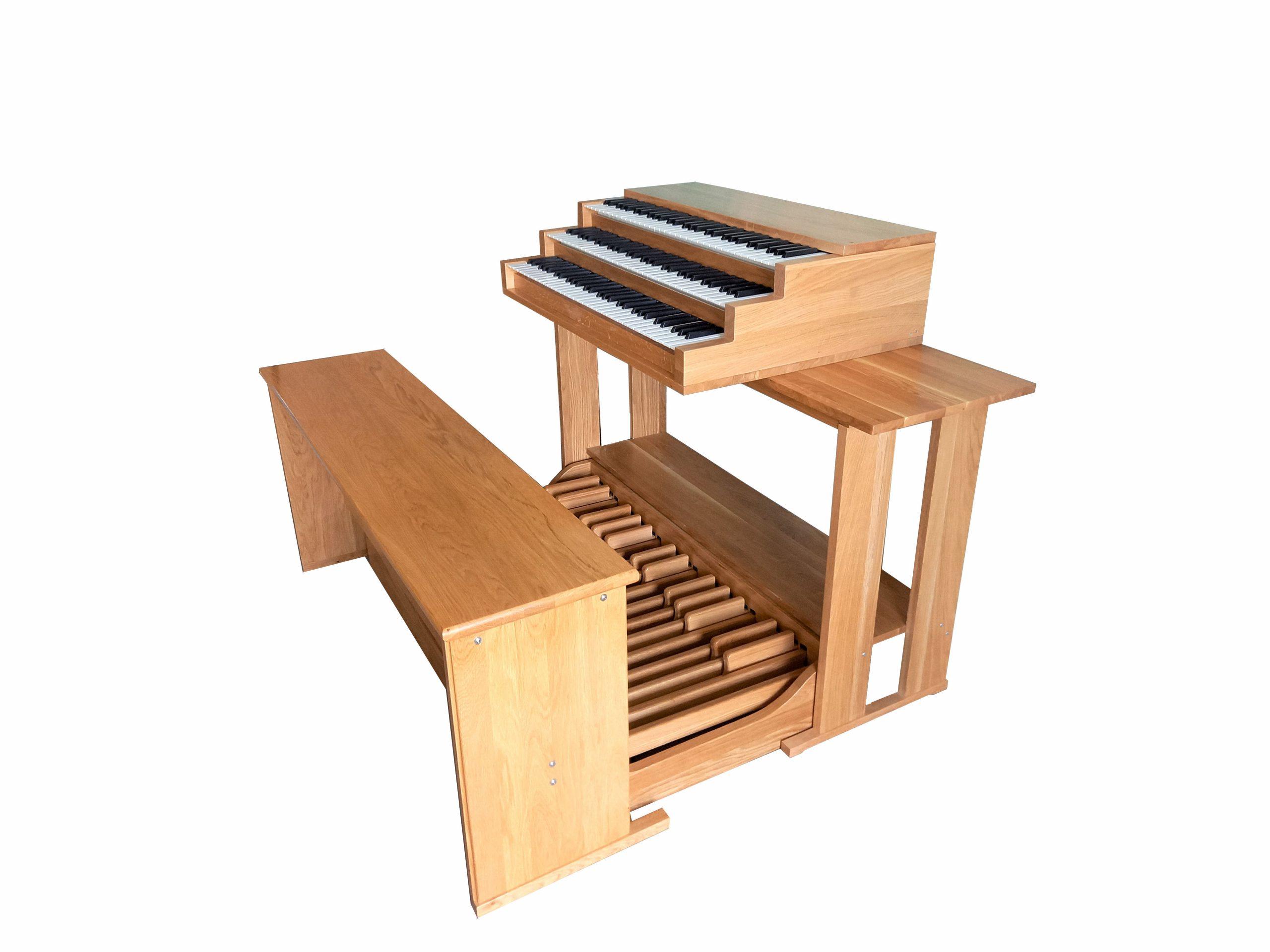 Schlanke Studio Orgeln